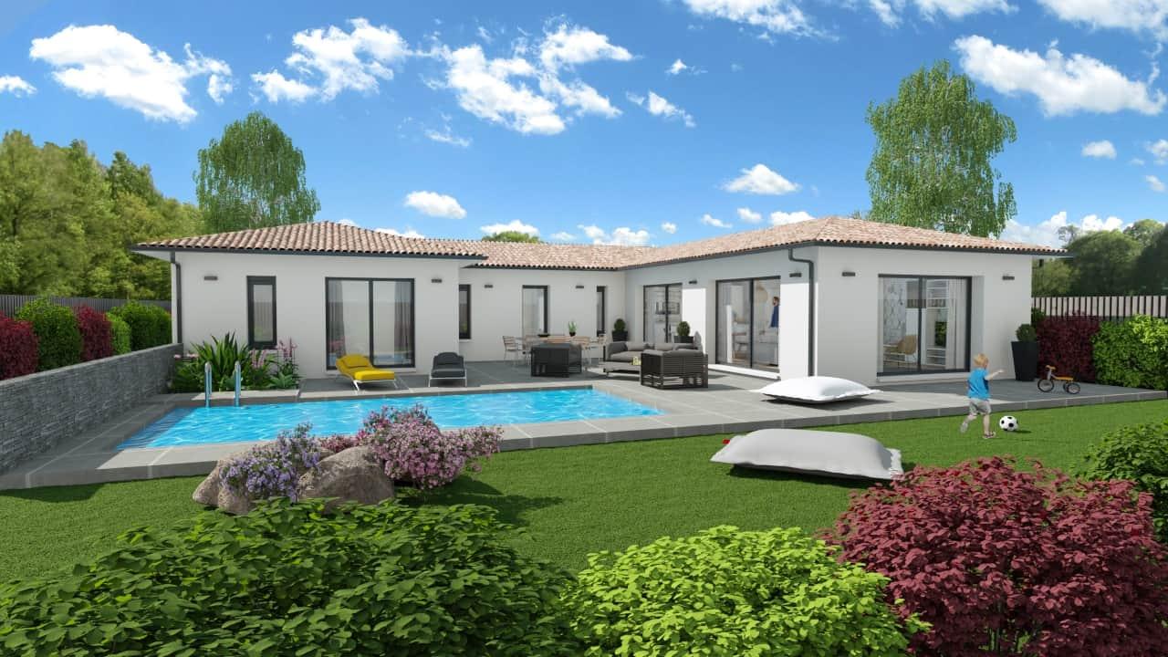 Construction de maison, modèle Tulipe